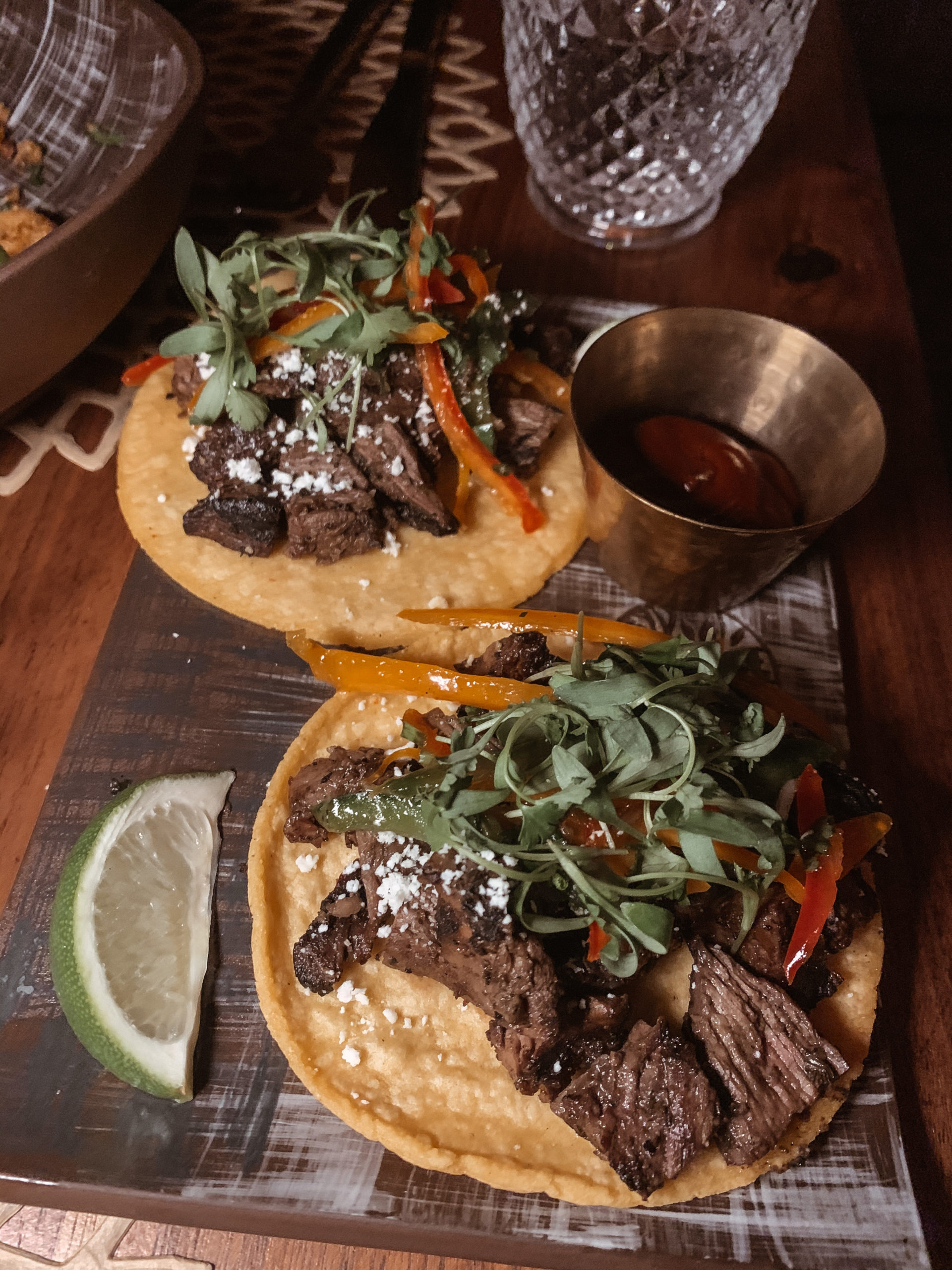 Toca Madera in Scottsdale - Carne Asada Tacis