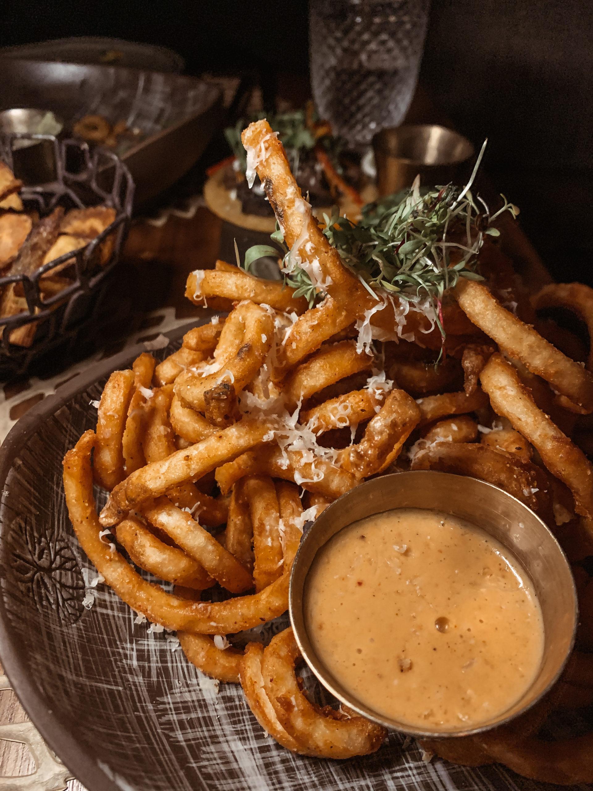 Toca Madera in Scottsdale - Manchego Fries