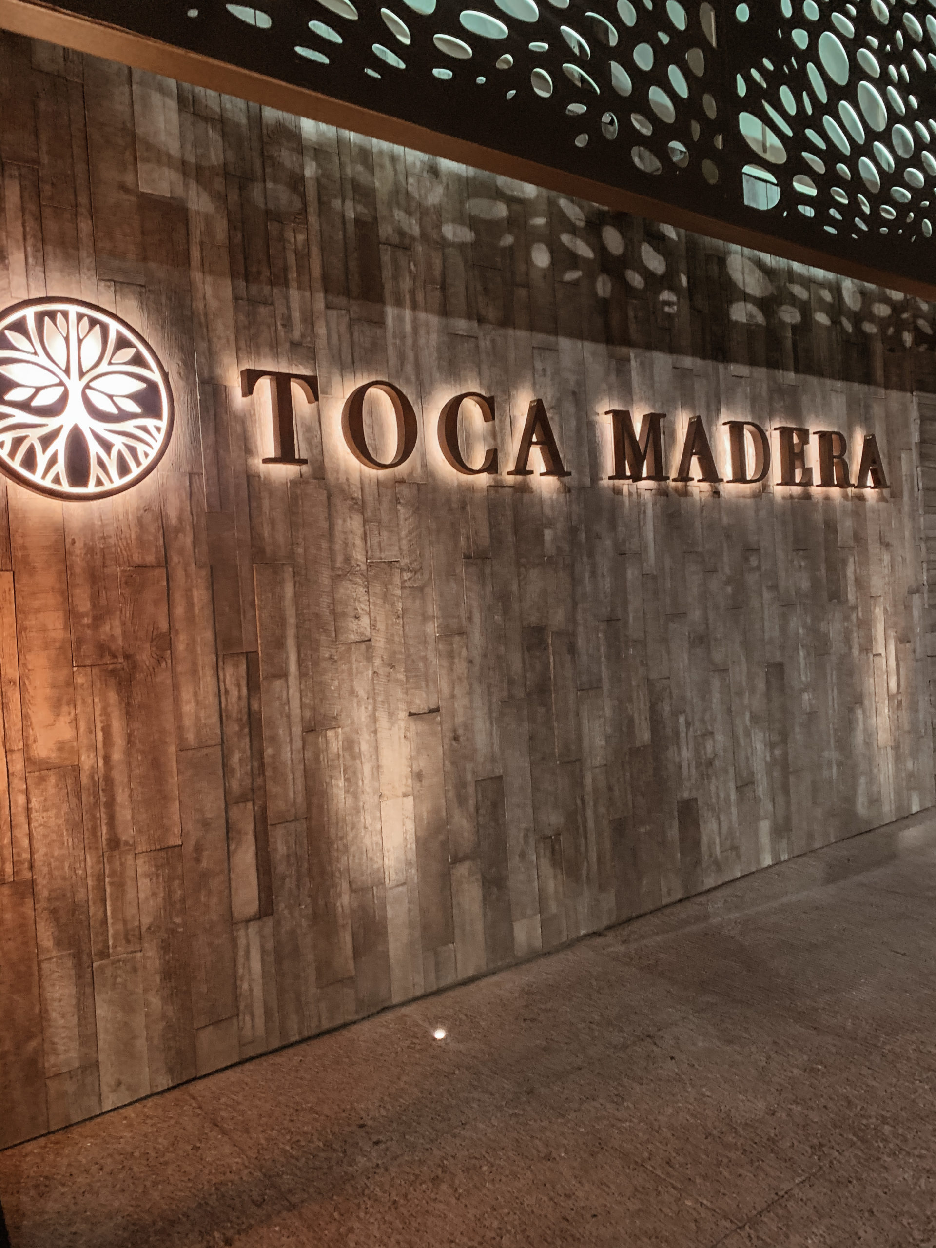 Toca Madera in Scottsdale - Entrance